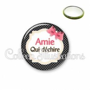 Miroir 56mm Amie qui déchire (008NOI01)