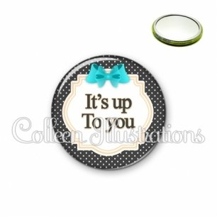 Miroir 56mm It's up to you (008NOI07)