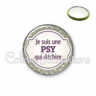 Miroir 56mm Psy qui déchire (011GRI01)