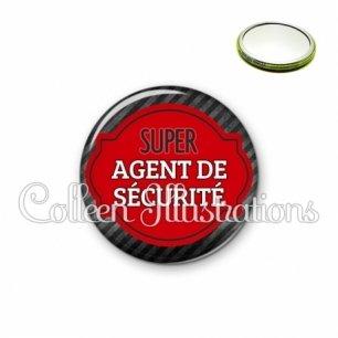 Miroir 56mm Super agent de sécurité (011NOI01)