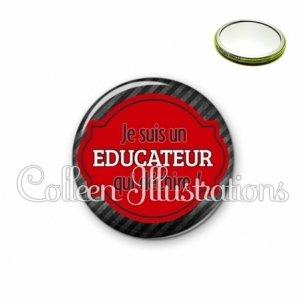 Miroir 56mm Educateur qui déchire (011NOI01)