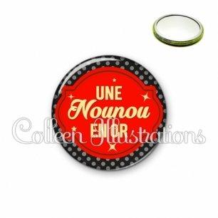 Miroir 56mm Nounou en or (011NOI02)