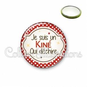 Miroir 56mm Kiné qui déchire (011ROU01)