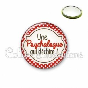 Miroir 56mm Psychologue qui déchire (011ROU01)
