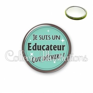 Miroir 56mm Educateur qui déchire (012VER01)