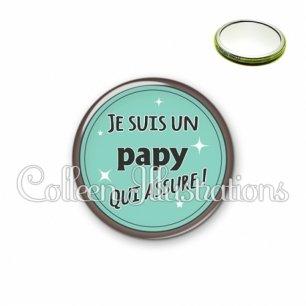 Miroir 56mm Papy qui assure (012VER01)