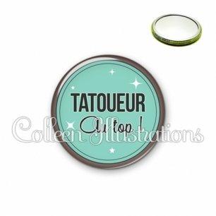 Miroir 56mm Tatoueur au top (012VER01)