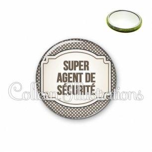 Miroir 56mm Super agent de sécurité (013GRI01)