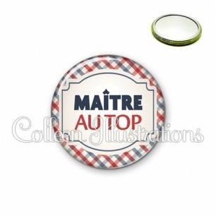 Miroir 56mm Maître au top (013MUL01)
