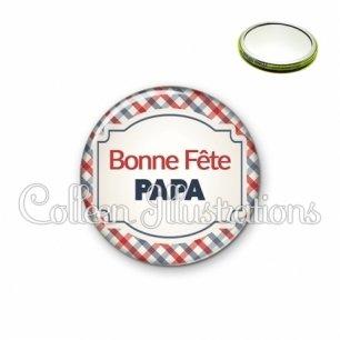 Miroir 56mm Bonne fête papa (013MUL01)