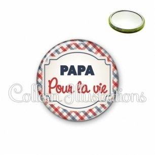 Miroir 56mm Papa pour la vie (013MUL01)