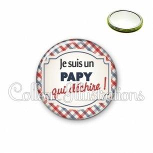 Miroir 56mm Papy qui déchire (013MUL01)