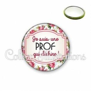 Miroir 56mm Prof qui déchire (013MUL03)