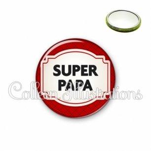 Miroir 56mm Super papa (013ROU04)