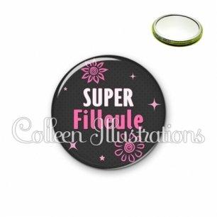 Miroir 56mm Super filleule (014GRI01)