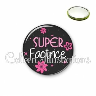 Miroir 56mm Super factrice (014GRI02)