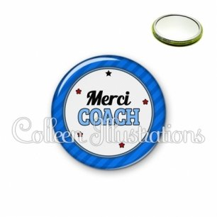 Miroir 56mm Merci coach (016BLE01)