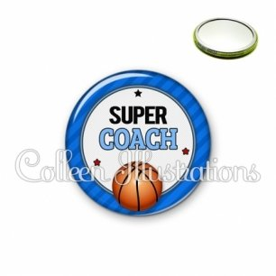 Miroir 56mm Super coach (016BLE01)