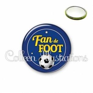 Miroir 56mm Fan de foot (016BLE04)
