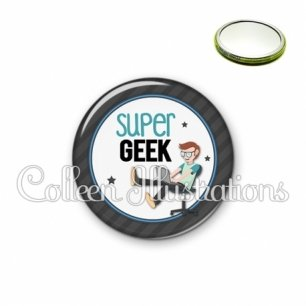 Miroir 56mm Super geek (016GRI02)