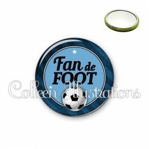 Miroir 56mm Fan de foot (016GRI03)
