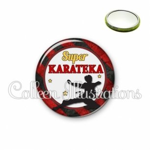 Miroir 56mm Super karateka (016MUL14)