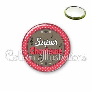 Miroir 56mm Super chanteuse (016ROU01)