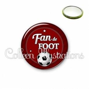 Miroir 56mm Fan de foot (016ROU02)