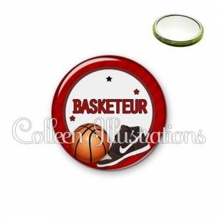 Miroir 56mm Basketteur (016ROU04)