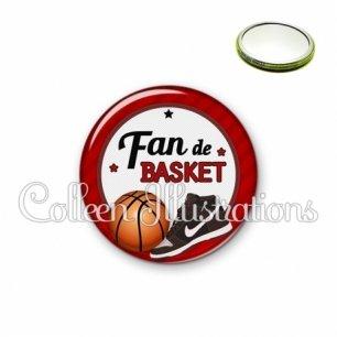 Miroir 56mm Fan de basket (016ROU04)