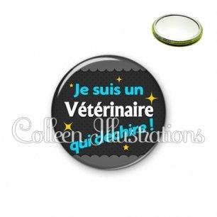 Miroir 56mm Vétérinaire qui déchire (019GRI01)