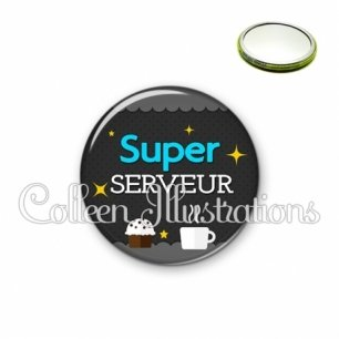 Miroir 56mm Super serveur (019GRI03)