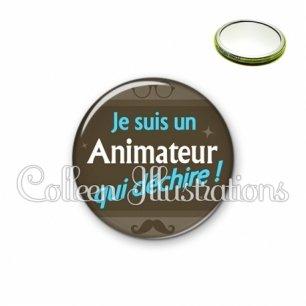 Miroir 56mm Animateur qui déchire (019MAR01)