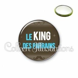 Miroir 56mm Le king des parrains (019MAR01)