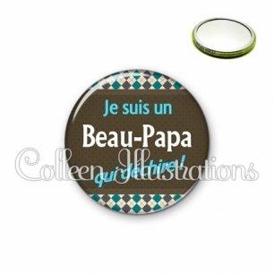 Miroir 56mm Beau-papa qui déchire (019MUL01)
