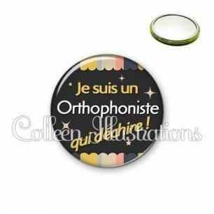 Miroir 56mm Orthophoniste qui déchire (019MUL04)