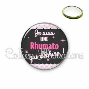Miroir 56mm Rhumato qui déchire (019ROS01)