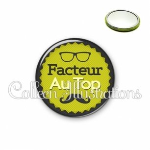 Miroir 56mm Facteur au top (024VER01)