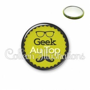 Miroir 56mm Geek au top (024VER01)