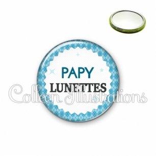Miroir 56mm Papy lunettes (028BLE03)