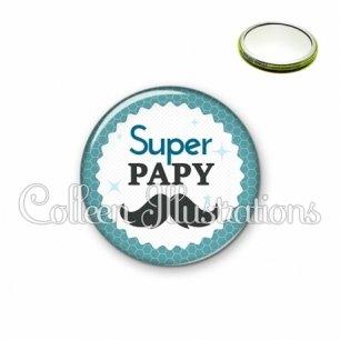 Miroir 56mm Super papy (028BLE04)