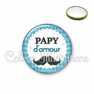 Miroir 56mm Papy d'amour (028BLE06)