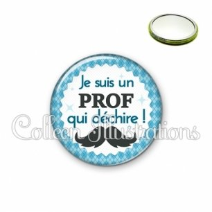 Miroir 56mm Prof qui déchire (028BLE06)