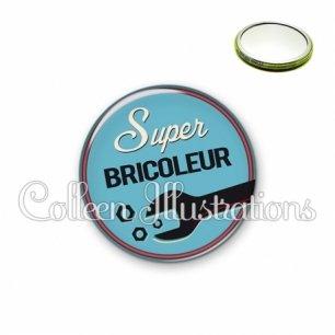 Miroir 56mm Super bricoleur (032BLE02)