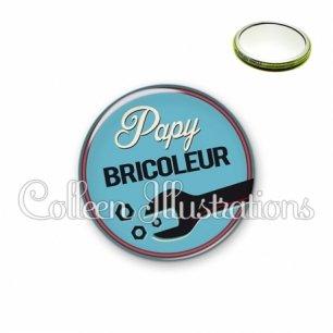 Miroir 56mm Papy bricoleur (032BLE02)