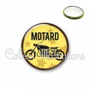 Miroir 56mm Motard (032JAU01)