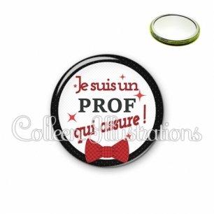 Miroir 56mm Prof qui assure (036NOI01)