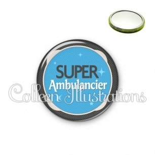 Miroir 56mm Super ambulancier (037BLE04)