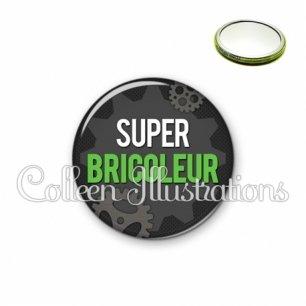 Miroir 56mm Super bricoleur (038GRI01)