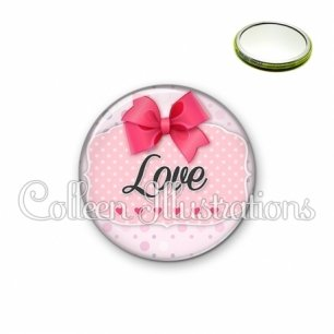 Miroir 56mm Love (039ROS02)